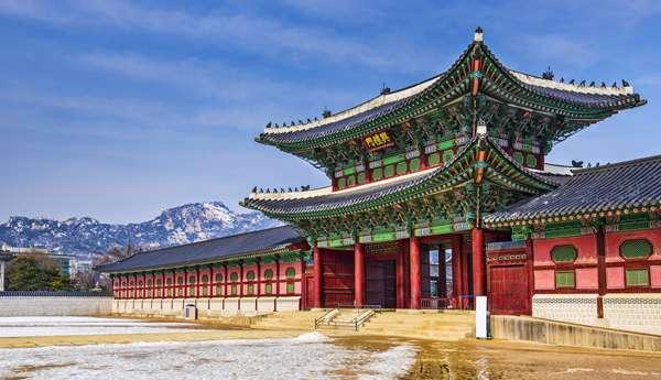 Palacio Gyeongbokgung en Seúl