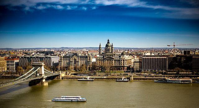Budapest panorámica con el Danubio