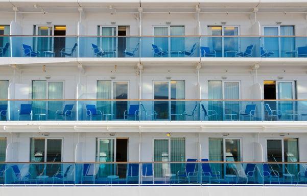 Camarotes de un barco