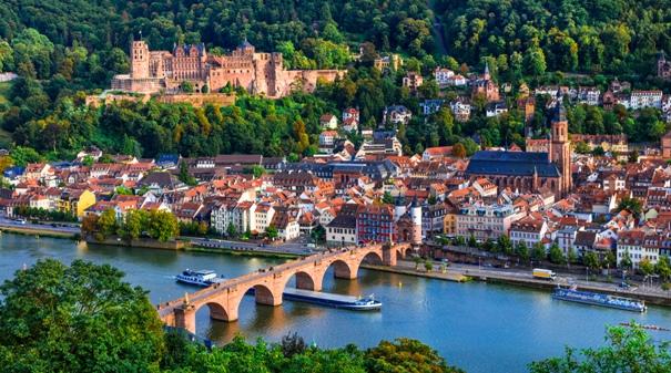 Cruceros fluviales por Navidad - Heidelberg