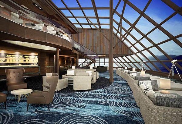 Norwegian Bliss salón de té
