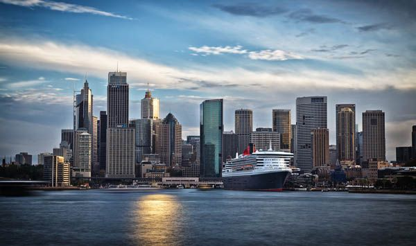 Barco de Cunard Cruise Line