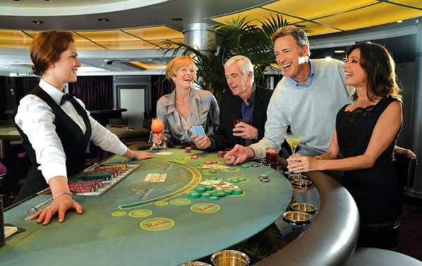 Casino en el Marina Oceania