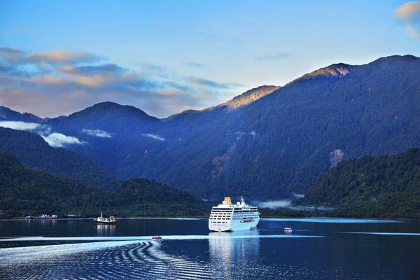 Crucero por los fiordos de Chile