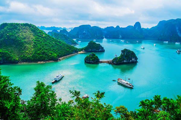 Bahía de Ha Long en Vietnam