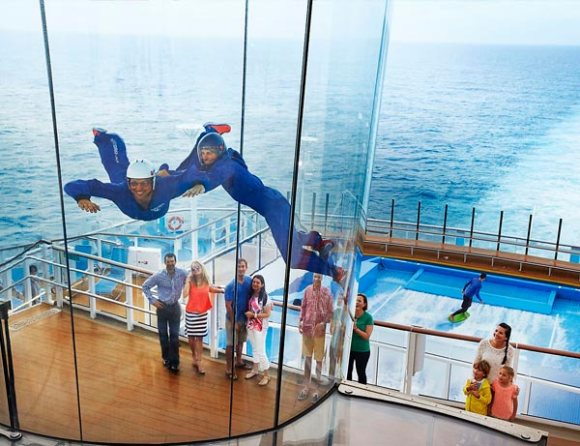 Simulador caida libre Quantum of the Seas