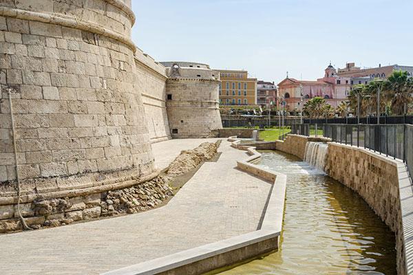 Fuerte Michelangelo puerto de civitavecchia