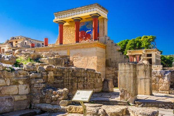 Palacio de Knossos en Heraklion
