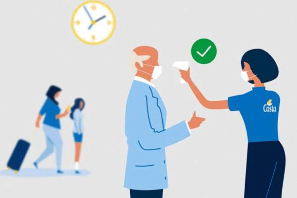 protocolo de salud durante el embarque