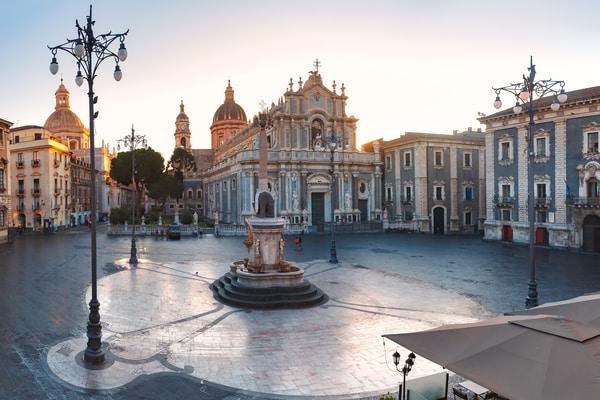 Catania en un día de crucero