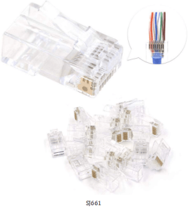 661 - What Types of RJ45 connectors I need?