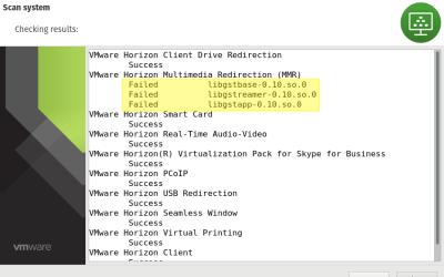 Horizon Client Installer Failed
