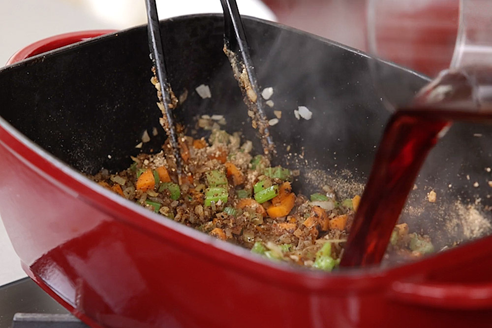 Kimchi-Rouladen