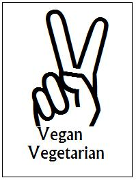 vegan vegetarian peace