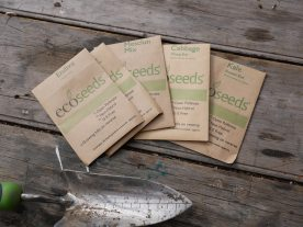 Lovely Organic Seed. delivered straight to your door. thanks Ecoseeds.