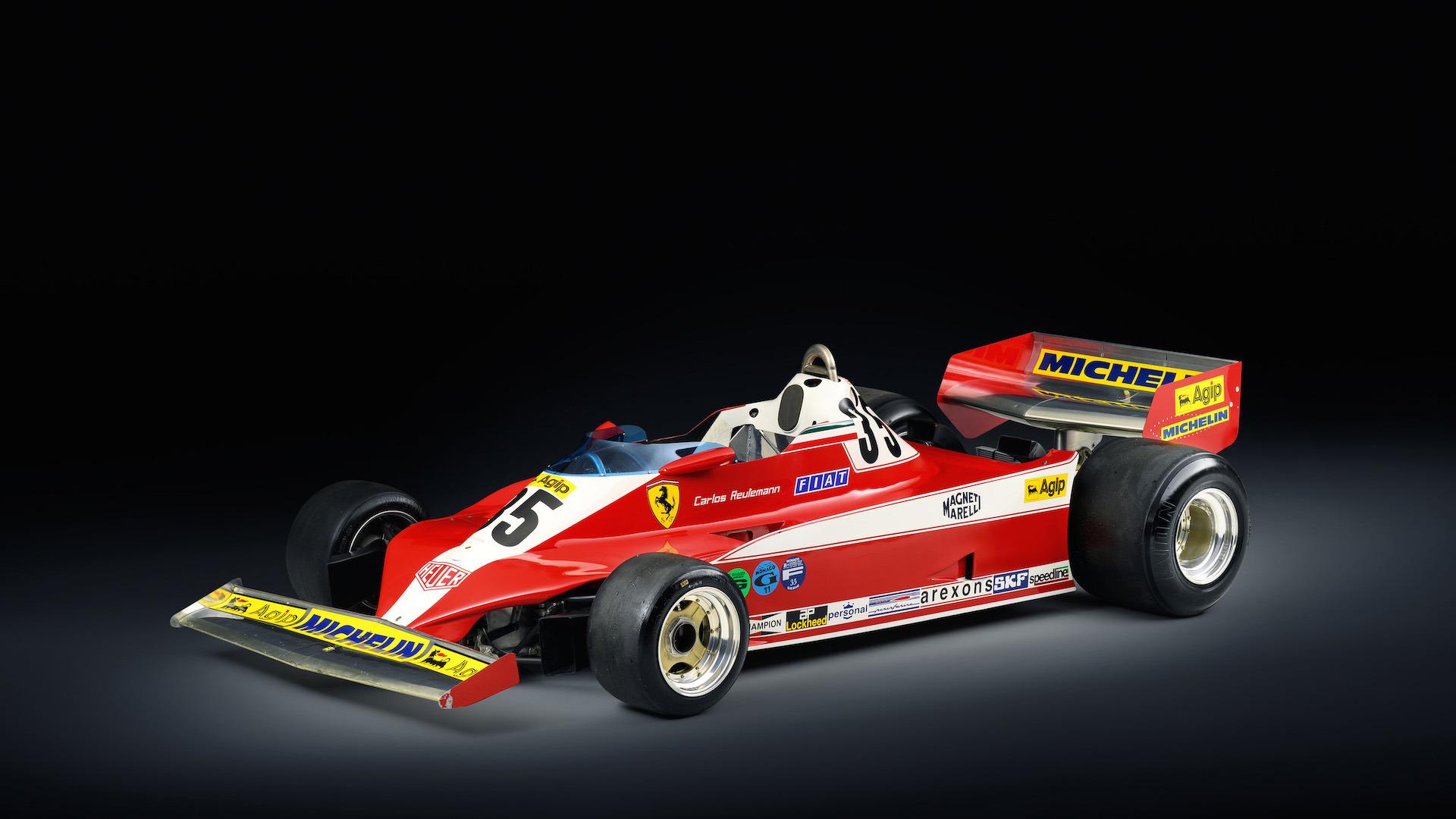 Carlos Reutemanns Ferrari 312T Is Up For Sale