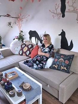 Obývací pokoj Aničky Sedláčkové