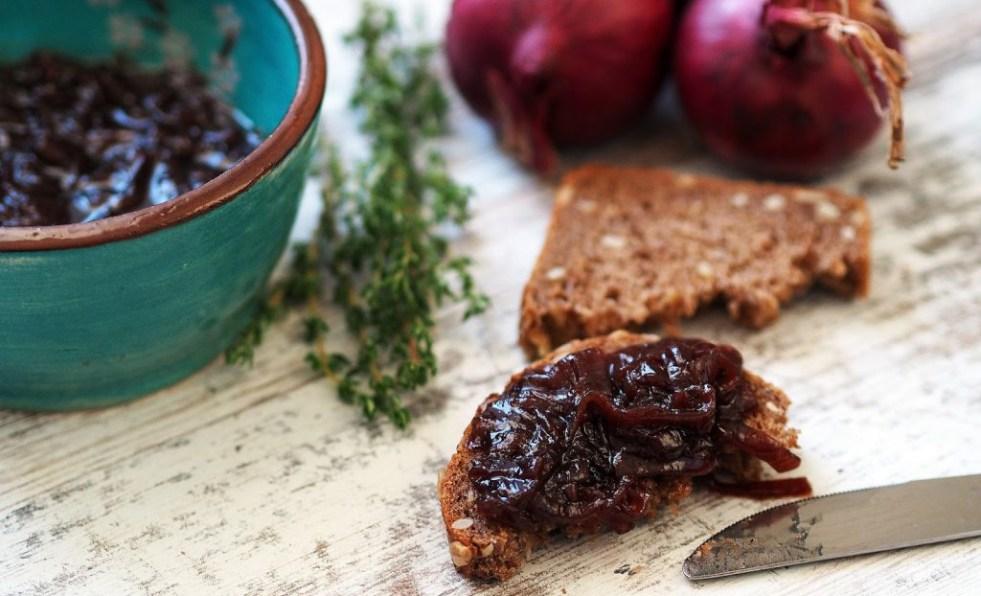 recept na cibulovou marmeládu jedlý dárek