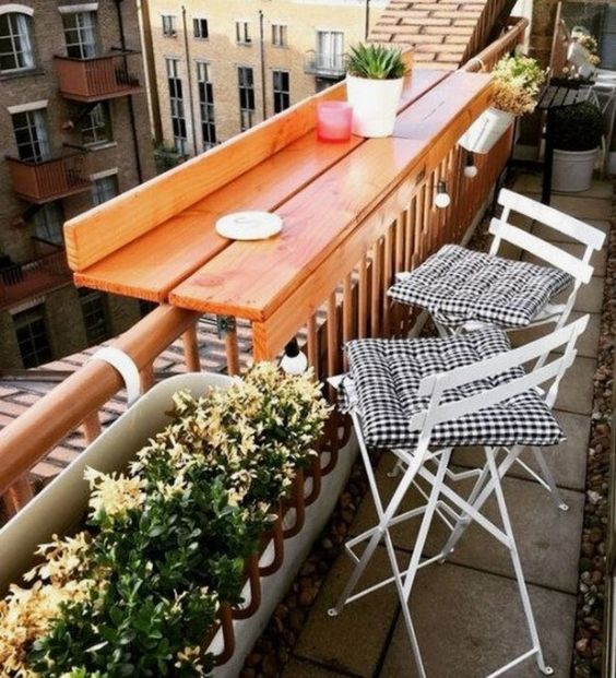 balkónový mini bar