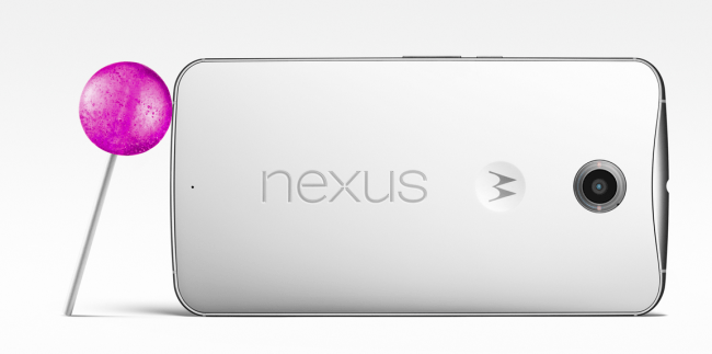 Nexus 6 con Android 5.0