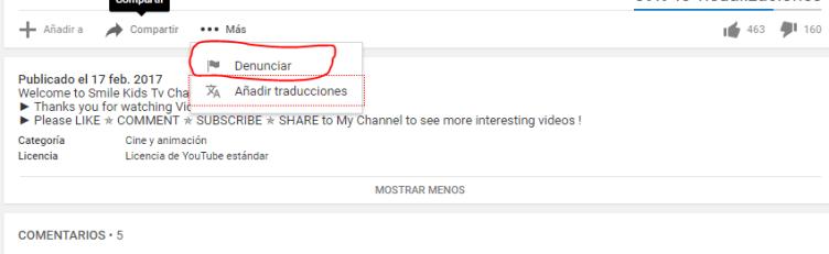 denunciar publicacion-youtube-mediatrends