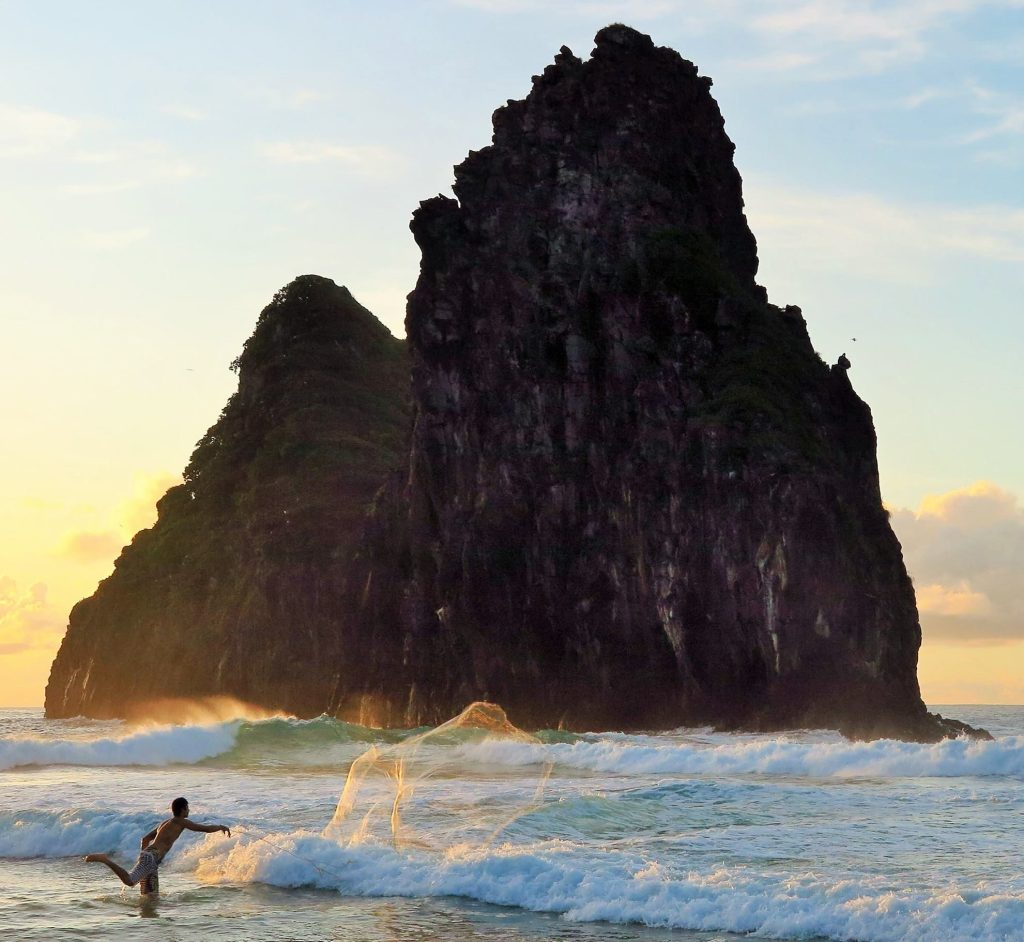Fernando de Noronha é a mais preciosa Ilha no Brasil e proporciona momentos como este.