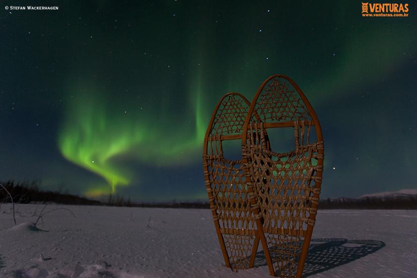 Canadá Aurora Boreal - Stefan Wackerhagen