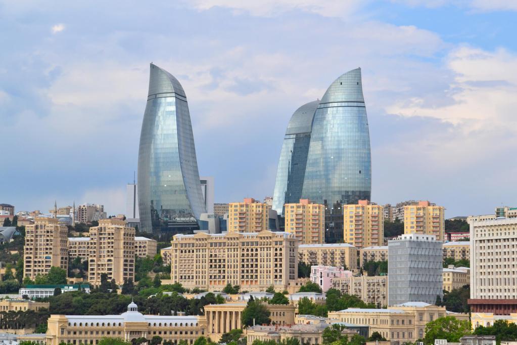 Armênia, Azerbaijão e Georgia no sul do Cáucaso
