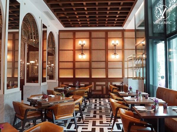fancy brunch restaurant hotel Singapore