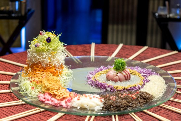 kingfish yusheng by mitzo restaurant