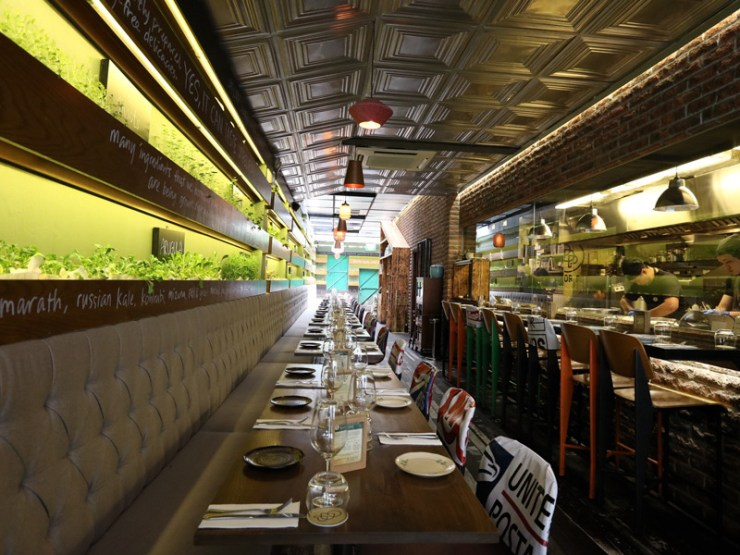 Garden Dining in Singapore to impress your clients