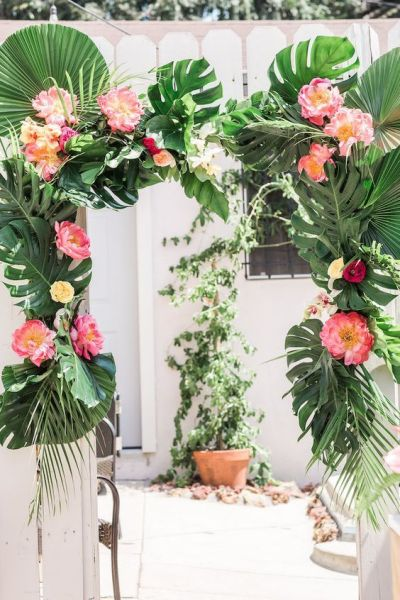 Tropical baby shower themes