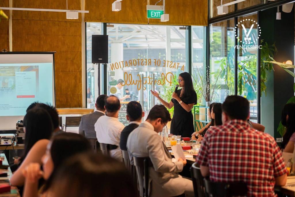 Presentation at the 1st Venuerific Luncheon at Plentyfull