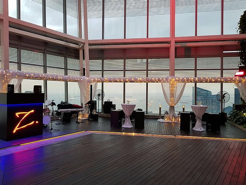 amazing event space with a view