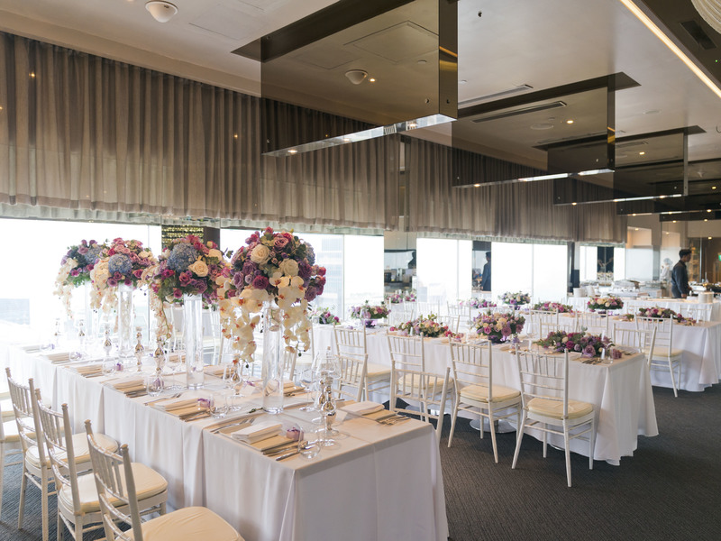 Indoor event space at the highest bar of Singapore, One-Altitude by One-Group