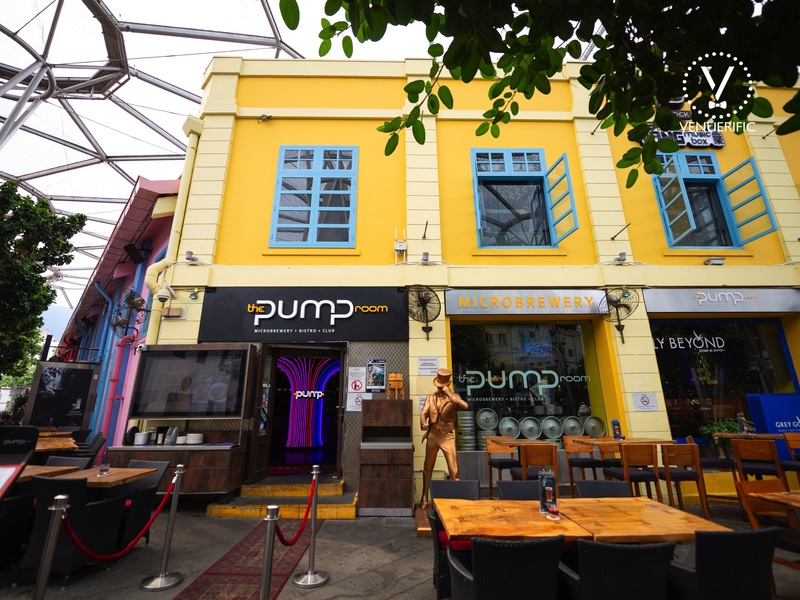 Cool and hip pub the pump room singapore