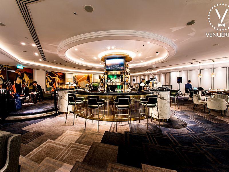 Classy lobby bar at the bar intermezzo