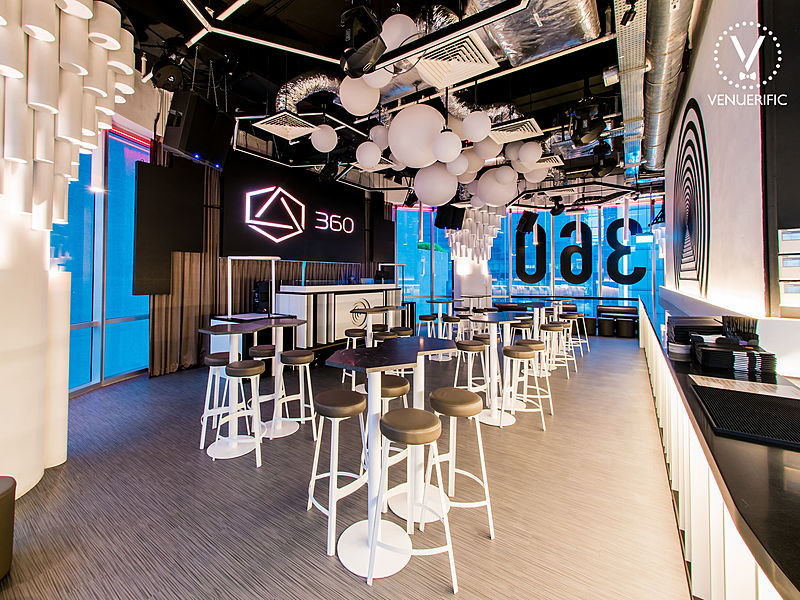modern bar lounge for party
