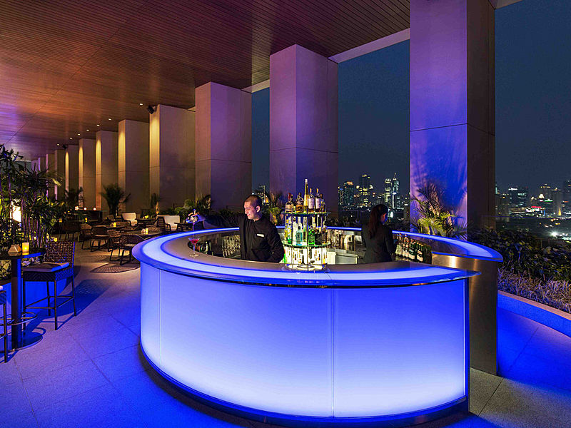 One of the best rooftop bar in 5 star hotel Jakarta K22