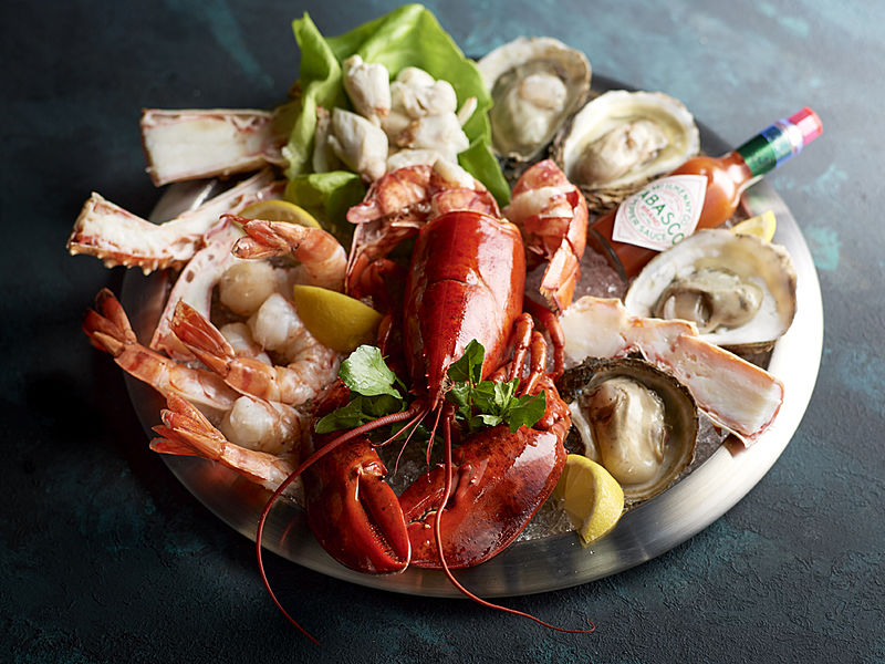 fresh lobster and seafood for fine dining