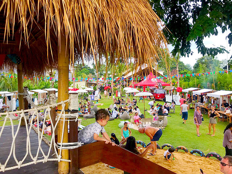 green playground for private party bali