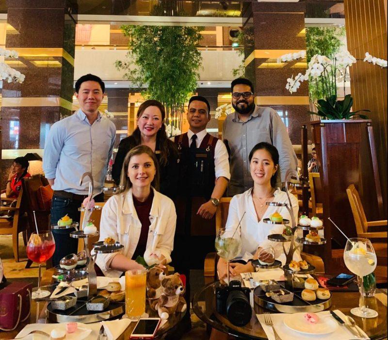 venuerific team with Conrad Centennial Singapore team