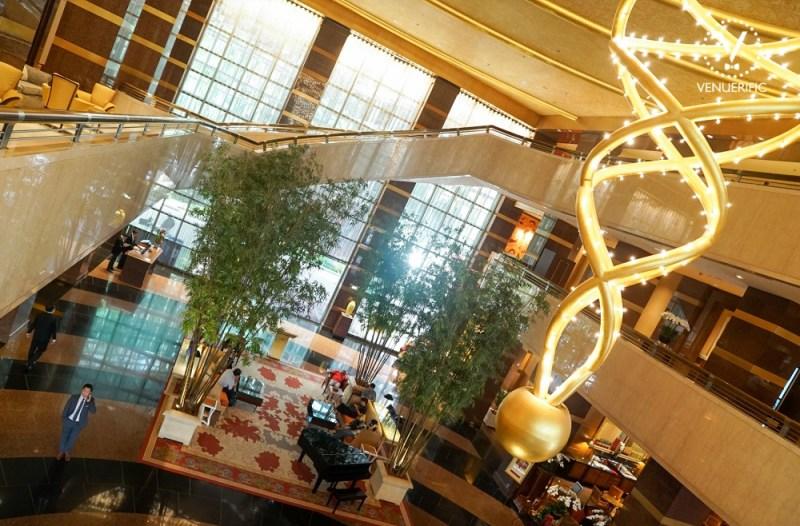 Conrad Centennial Singapore beautiful lobby hotel