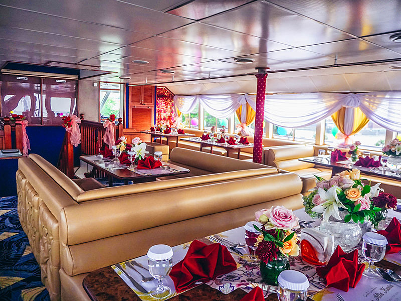 beautiful interior private cruise jakarta
