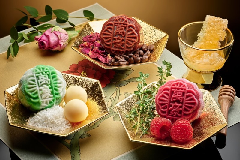 delicious mooncake with a lot of flavour