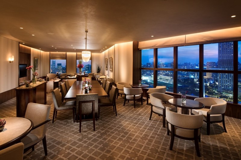 the new executive lounge from conrad centennial singapore