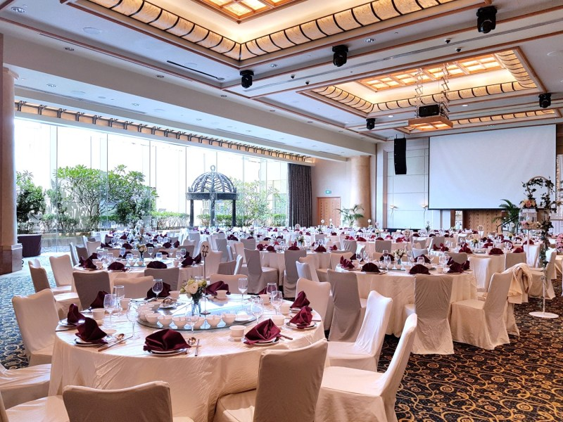 Grand Copthorne Waterfront beautiful banquet space singapore