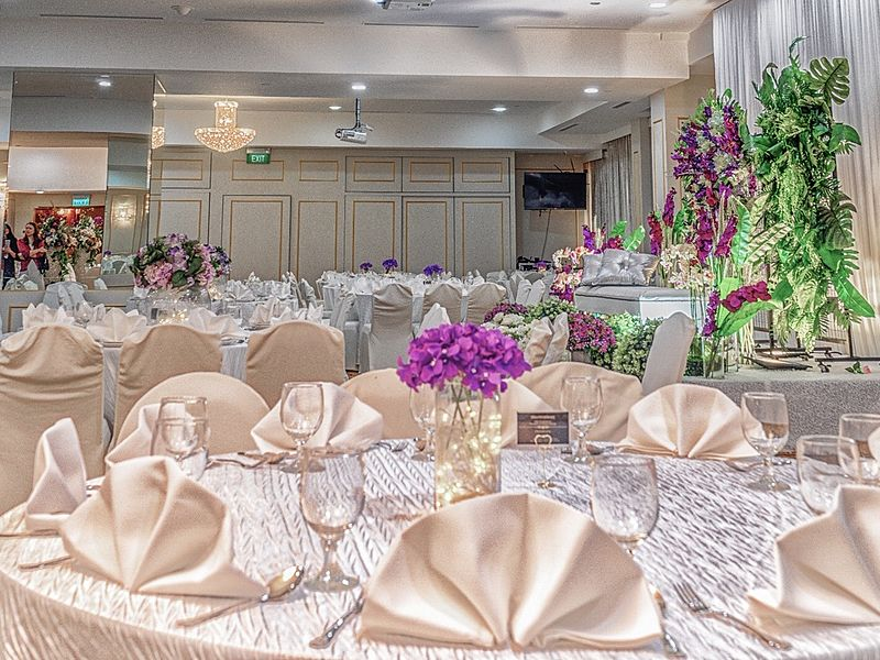 exquisite and stylish ballroom the landmark ballroom