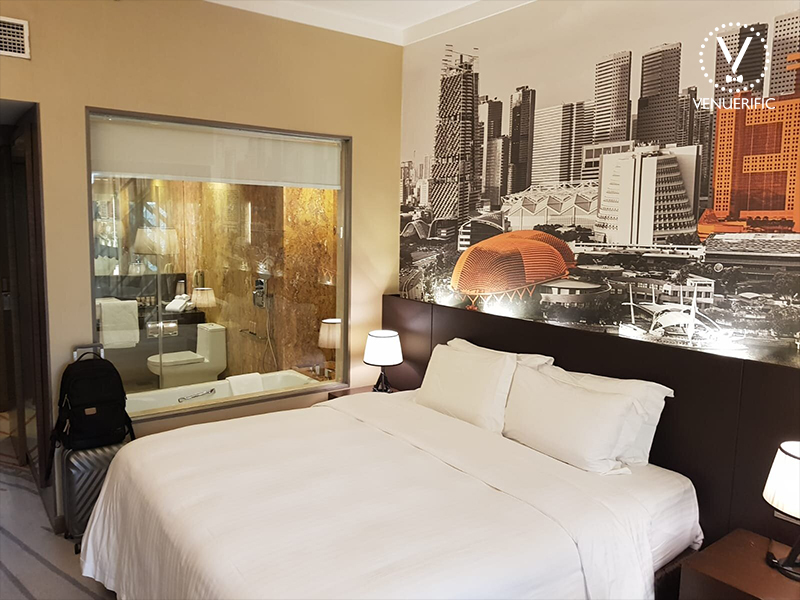 comfortable spacious room for sweet staycation singapore