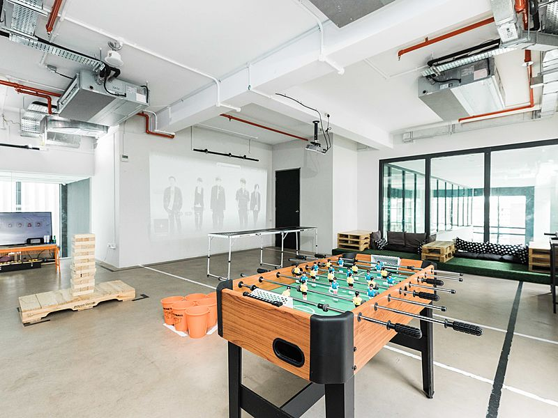 facilities and games from control space singapore